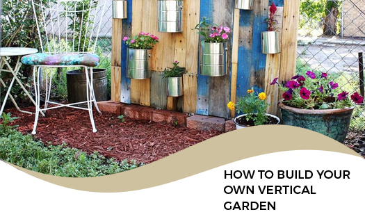 How To Build Your Own Vertical Garden With Shipping Pallets
